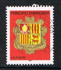 Andorra (French POs) SG F599 2002 Definitive NVI fine used